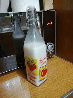 Σπιτικό γάλα αμυγδάλου