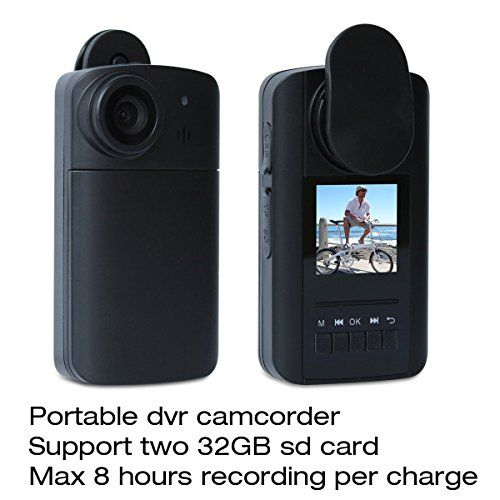 Conbrov (Tm) Hd90 Mini Pocket Digital Video Camcorder Security Wearable Camera Recorder Dv for Max 8 Hours Recording Per Charge