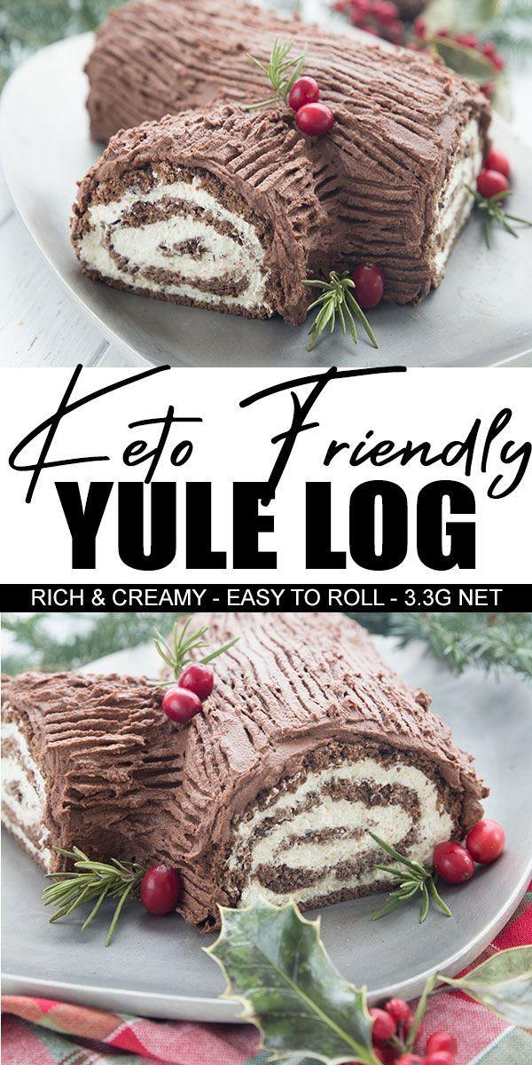Keto Buche De Noel In 2020 Classic Holiday Desserts Cake Roll Keto Cake