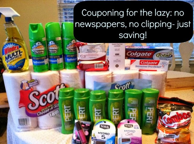 Couponing for the Lazy - Create Bake Celebrate