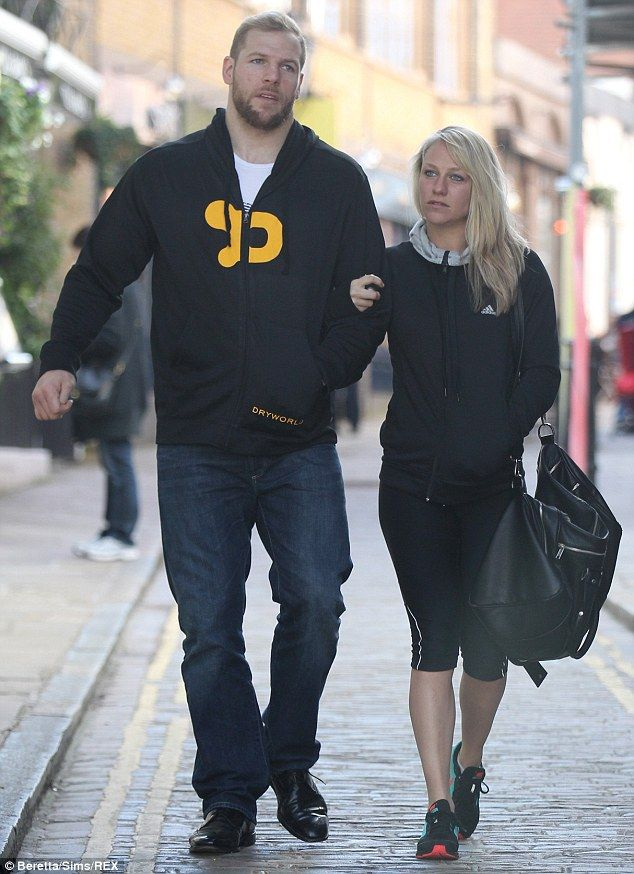 Chloe Madeley enjoys gym outing with boyfriend James Haskell #dailymail