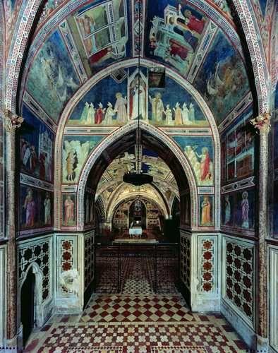 28 best giotto werke assisi nikolauskapelle la capella di san giotto di bondone 1267 1337 blick von der nikolauskapelle richtung altar fandeluxe Images