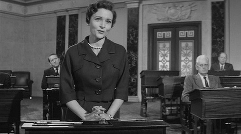 "Betty white's first movie.""advise and consent"" 1962"