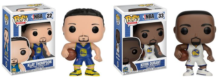 NBA Pop Golden St. Warriors - Kevin Durant & Klay Thompson Set