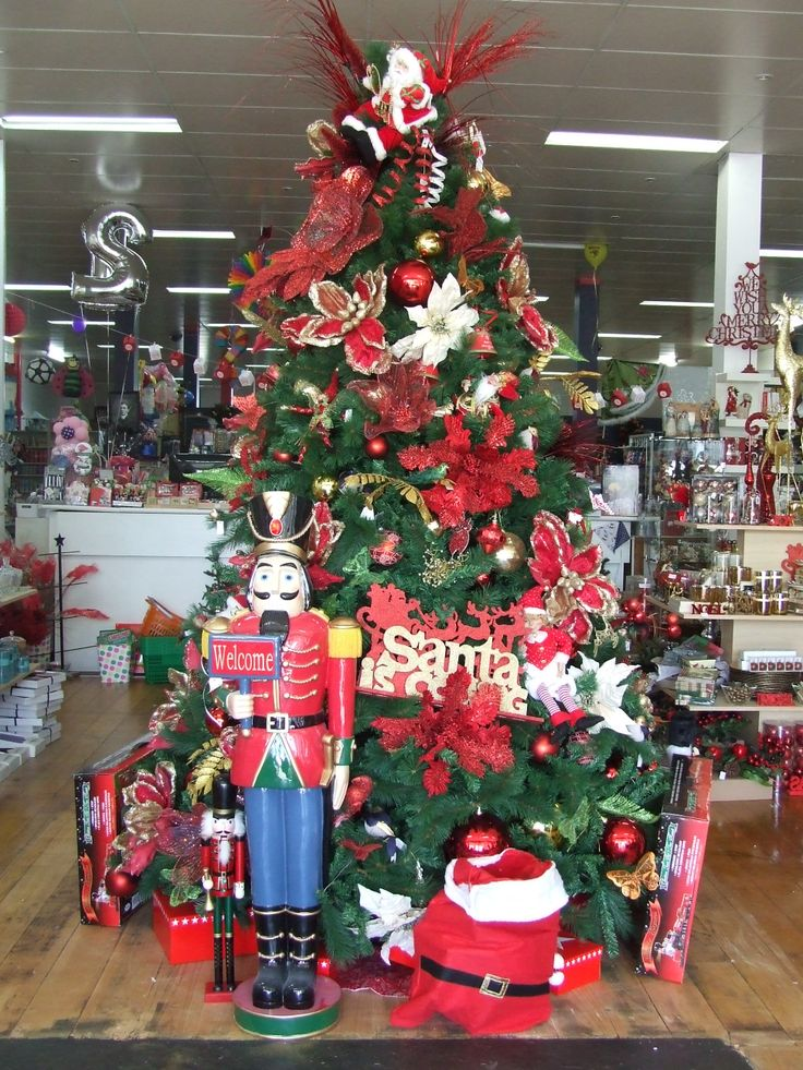 Our giant Celebrating Christmas shop tree
