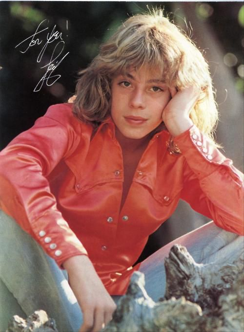 OMG! I had this photo of Leif Garrett on my wall for years! Yes, I was infatuated with him then. Now? Not so much.