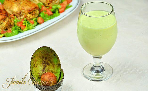 Shake de avocado – reteta video