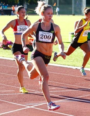 Anita Punt wins track again