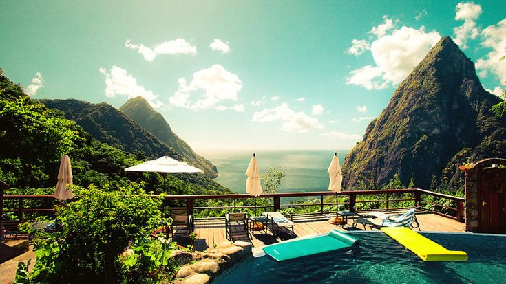 Explore The Beauty Of Caribbean: 17 Best Ideas About Santa Lucia Island On Pinterest