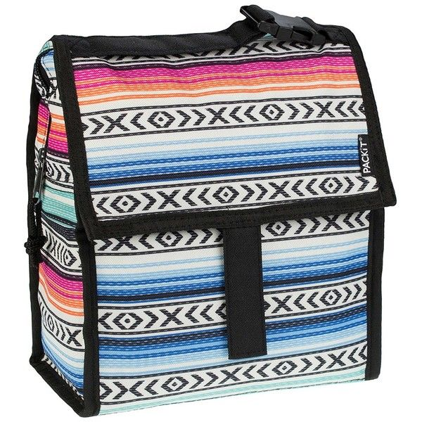 Amazon.com: Freezable Lunch Bag (Fiesta): Kitchen & Dining (890 MXN) ❤ liked on Polyvore featuring home, kitchen & dining and food storage containers