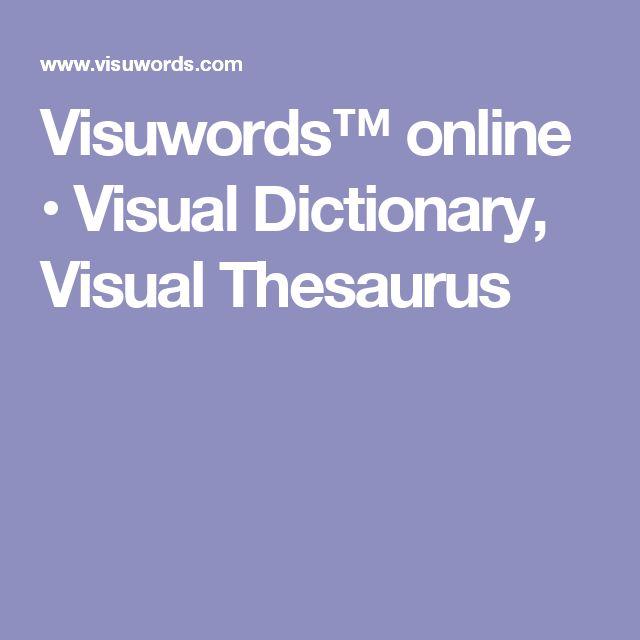 Visuwords™ online • Visual Dictionary, Visual Thesaurus