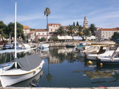 Oh the places you will go  / Harbour, Vela Luka, Korcula, Dalmatia, Croatia Photographic Print by Ken Gillha