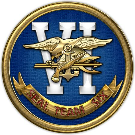 Military Insignia 3D by C.7 Design: U.S. Navy SEALs: Original patches of the active duty Navy SEAL Teams                                              Seal Team Six