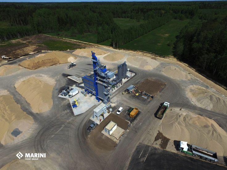 TOP TOWER 3000, Latvia. REad more on: http://bit.ly/29r9bbj  #marini #fayatgroup #toptower #asphalt #asphaltplant