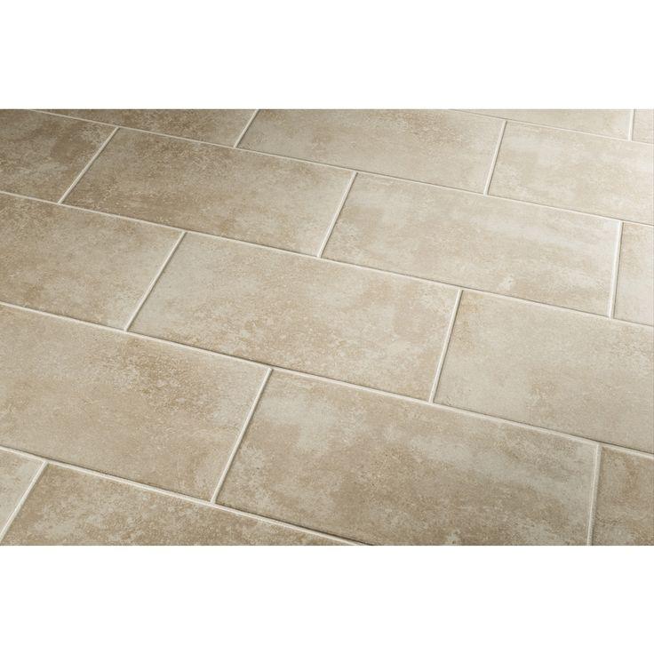 Shop CELIMA Cordova Beige Ceramic Floor Tile (Common: 12 In X 24