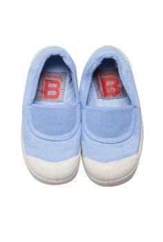 Tennis élastique bleu oxford enfant