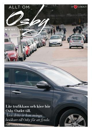 Allt om Osby nr. 8 2017  100% lokala nyheter från Osby kommun producerat av espresso reklambyrå