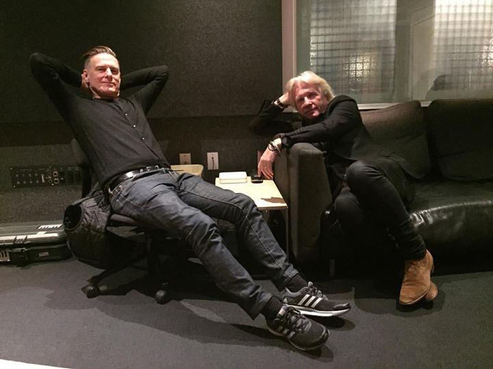 Hanging out with Bob Rock, producer extraordinaire @100powell #metallica #bryanadamsgetup #onadayliketoday