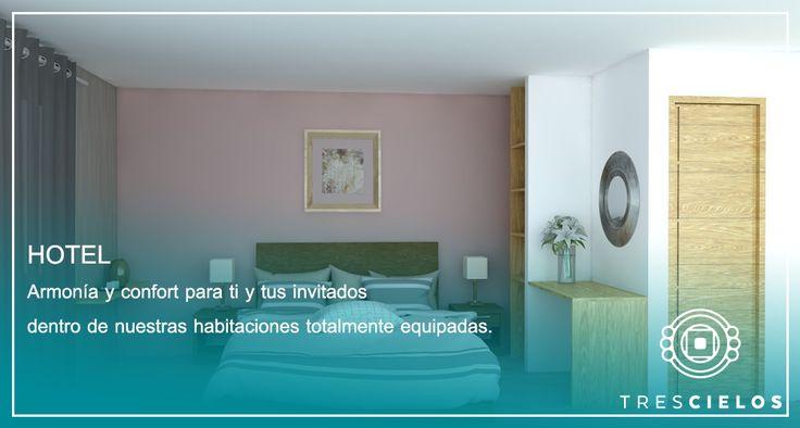 """Habitaciones Confortables Hotel Destino de tu Boda, """"Tres Cielos"""" Tequesquitengo, México. Jardín de Eventos."""