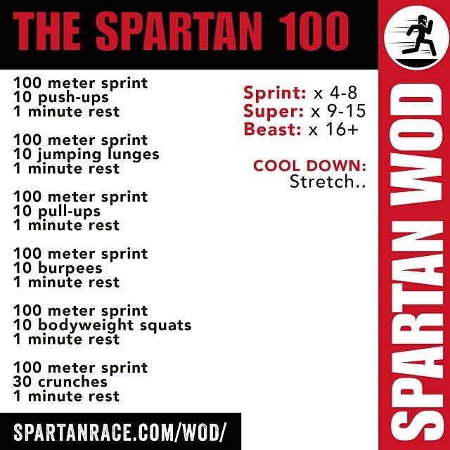 The Spartan 100
