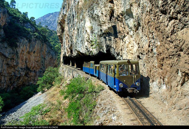 RailPictures.Net Photo: 3001 OSE Hellenic Railways BILLARD at Diakofto-Kalavrita, Greece by ARTEMIS KLONOS