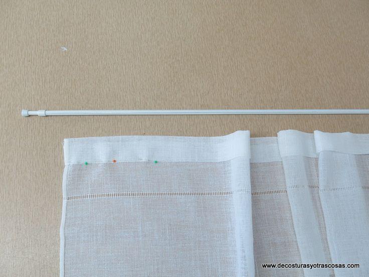 M s de 1000 ideas sobre visillos en pinterest cortinas - Visillos y cortinas ...