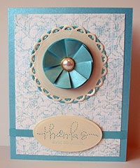 another tea bag folded card from Cardmaker mag