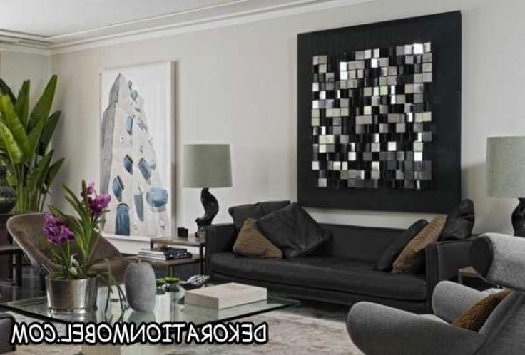 moderne kunst wohnzimmer wohnzimmer wohnideen wandgestaltung metall