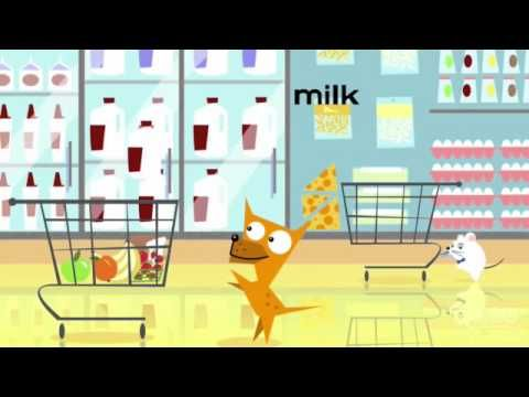 El Perro y El Gato -- Supermercado (HBO Latino) food words