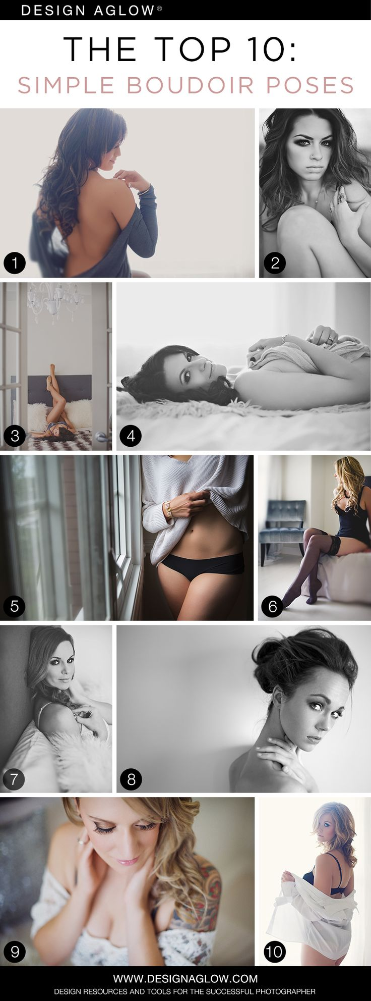 The Top 10: Simple Boudoir Poses
