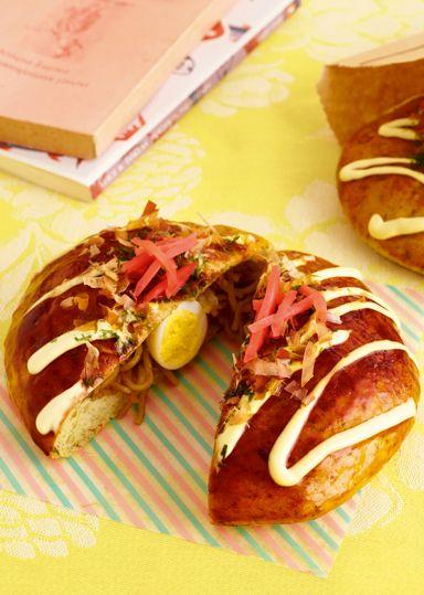 広島風お好み焼きパン のレシピ・作り方 │ABCクッキングスタジオのレシピ | 料理教室・スクールならABCクッキングスタジオ