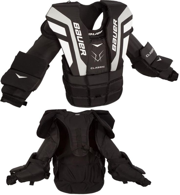 Other Hockey Goalie Equipment 79765: Bauer Classic Chest And Arm Protector - Sr -> BUY IT NOW ONLY: $129.99 on eBay!