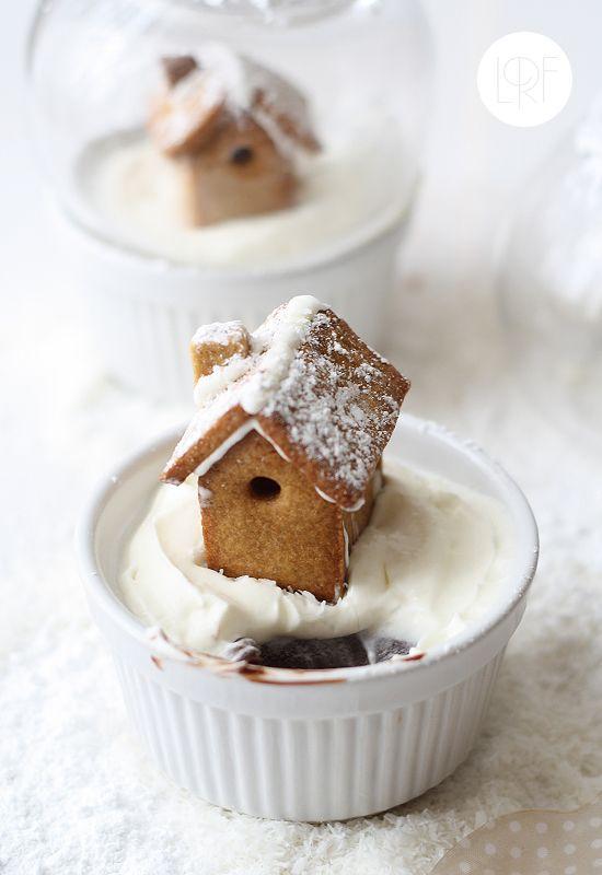 """#DIY #Christmas #Food: Casetta di Pan di Zenzero Innevata e racchiusa in una Sfera di Cristallo, è di """"La Receta de la Felicidad"""" (#Natale con """"La LUNA"""": II Puntata)"""