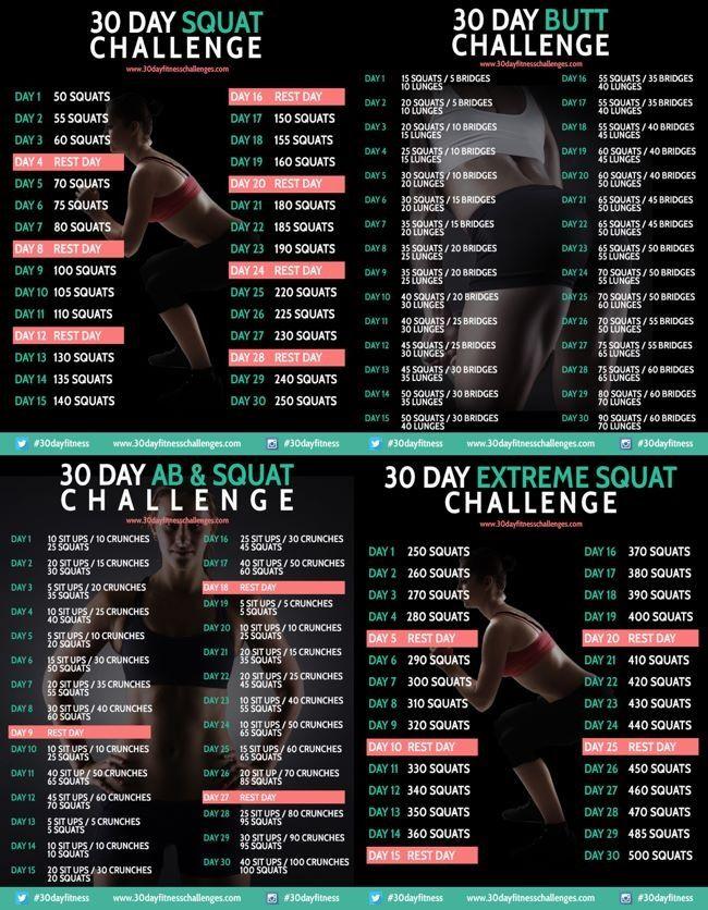30 day ab and squat challenge pdf