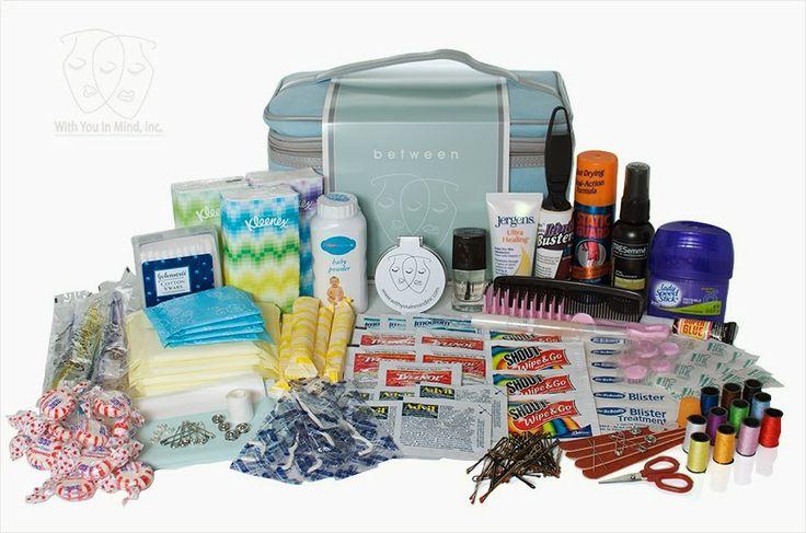 festeggeventi: il matrimonio: il kit d'emergenza per la sposa! Bridal Emergency Kit.