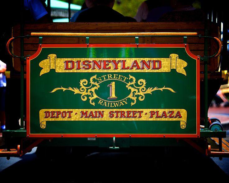 Main Street USA Street Railway #1 Disneyland