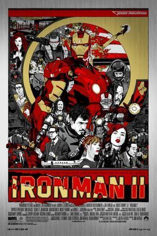 アイアンマン2メタルタイラースタウトポスター