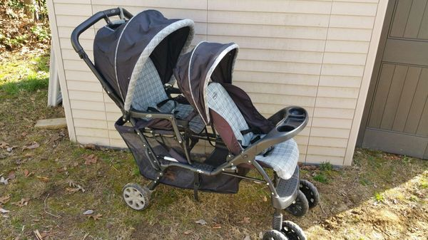 Evenflo My Step Double Stroller Blue for Sale in Bel Air ...