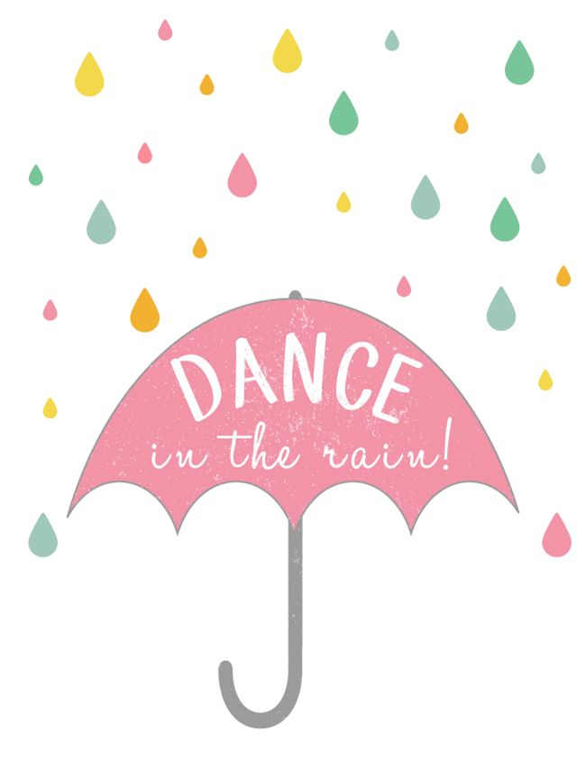 Dance in the Rain! {Free Spring Printable} - EverythingEtsy.com