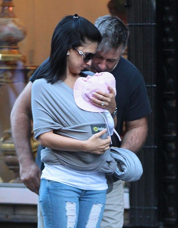 Alec Baldwin, Hilaria Baldwin & daughter Carmen