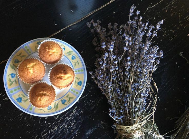 Cupcakes alla lavanda - Lavender Cupcakes #food #recipe #lavender #lavanda #ricette