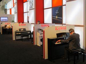 Dutch Music Event visits the Musikmesse Frankfurt 2015.