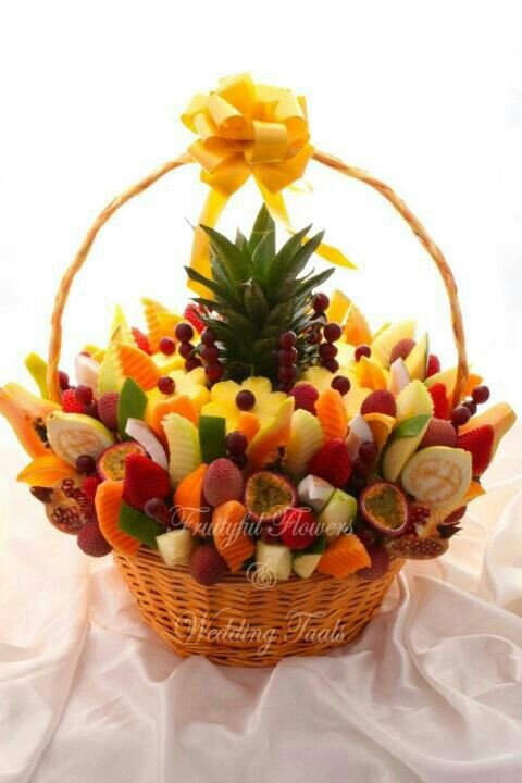 Delicious Fruit Baskets – a Perfect Gift for the Health-Minded. Gifting a luscious.