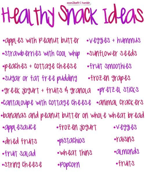 Make sure you are eating enough calories for your body! And healthy snack ideas+clean eating