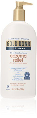 #Gold Bond Ultimate Eczema Relief Skin Protectant Cream's patent-pending formula combines two percent skin-protecting oatmeal with seven moisturizers and three v...
