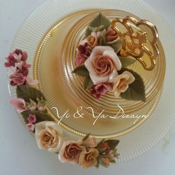 Cold porcelain  Soğuk porselen şekerlik, lokumluk