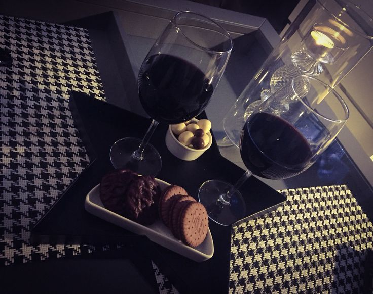 Red wine relax
