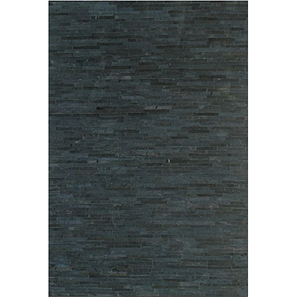La Paz Nero Animal Hide Rug