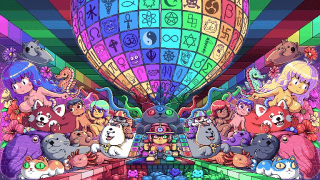 Portal dos Quadrinhos: A maravilhosa Pixel Art de Paul Robertson!
