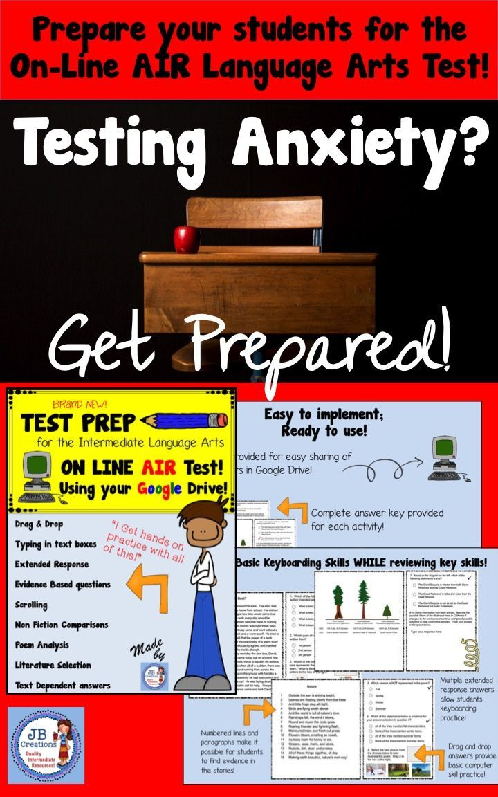 Give intermediate students practice with on line testing strategies learn how to scroll